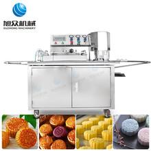 漳州全自动商用月饼自动成型机糕点印花压印成型机多少钱图片