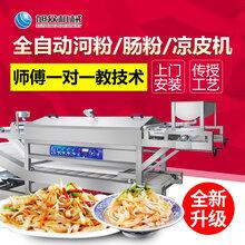 广东全自动粿条机价格潮汕出现自动粿条机全自动米皮机生产视频图片