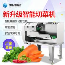 中央厨房用多功能自动切菜机学校配送中心用蔬菜瓜果切片切丝机图片