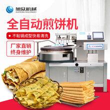 2019全自动煎饼机价格仿手工煎饼机东北自动温控薄煎饼机图片