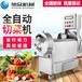北京飯堂用多功能切菜機廠家直銷全自動切菜機多少錢一臺