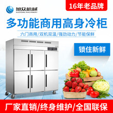 深圳高身速凍冷柜包子餃子廚房高身雙機雙溫冷柜圖片