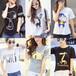 山西忻州春季新款純棉時尚短袖T恤批發地攤衣服女裝T恤便宜批發