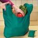 供應U形可折疊購物袋方形時尚創意禮品袋O形滌綸布袋定做