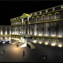 上海神冠led灯光动画设计景观亮化工程行业领先图片