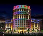 上海神冠led灯光动画设计景观亮化工程价格实惠图片