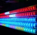 江苏昆山led幕墙灯亮化项目,led霓虹灯led轮廓灯夜景亮化项目图片