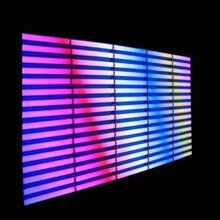 上海闵行商务大楼led幕墙灯厂家承接led霓虹灯led亮化工程图片