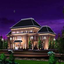 昆山大楼外墙泛光灯,投光灯,泛光照明使用