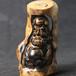 湟海自产正品海柳精雕摆件祖师达摩收藏品