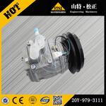 小松勾机PC300/200空调压缩机小松空调控制面板图片
