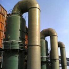 济宁化工脱硫设备,山东热电脱硫塔工艺流程简述,pS双碱脱硫喷淋塔图片