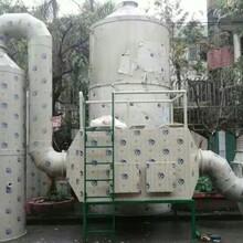 塔吊高空喷淋降尘系统喷淋塔除尘方案图文图片