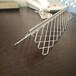供应夏博钢板网护角拉网墙角网,拉网带边护角,菱形护角网