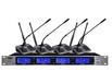 TOJIE拓捷會議系統,RAS-2400,一拖四U段無線會議麥克風