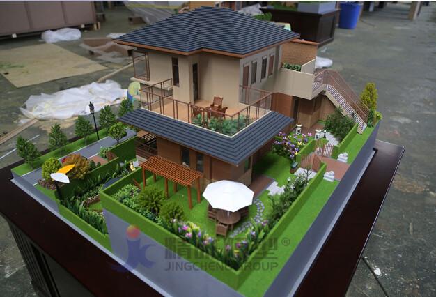 别墅模型建筑户型制作楼盘别墅沙盘精诚模型图片