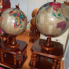 西安实木地球仪大摆件彩色精品高档送母校庆典地球仪落地大摆件60到80CM直径