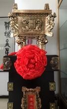 西安开业铜鼎摆件价格陕西周年庆典送大鼎工艺品摆饰树脂青铜开业大鼎批发价图片