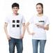 现货混纺T恤批发cvc圆领衫定做印字厂家大量供应文化衫定制广告衫印logo宣传
