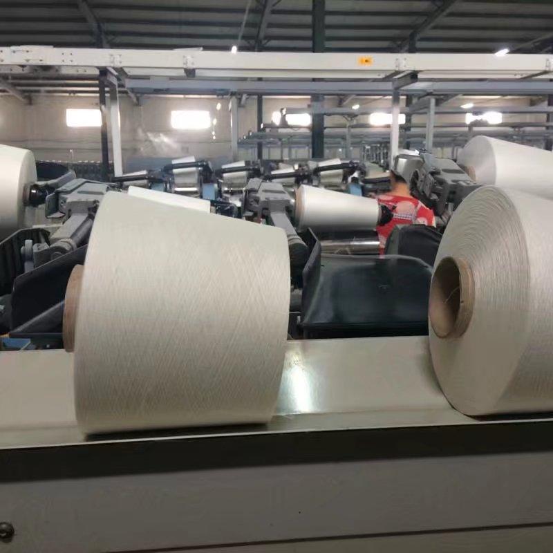 高邑县气流纺仿大化涤纶纱线价格趋势喷气织机专用纱