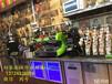 厂家专业奶茶带立架水吧台奶茶操作台一整套设备低价格甩卖批发