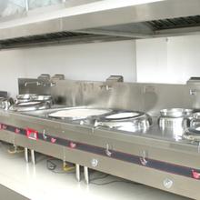 龍華萬眾城餐廳廚房油煙凈化器安裝不銹鋼抽排風煙罩三天到貨廠家圖片