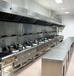 寶安是廚房煙罩批發餐廳煙罩廚房設備非標定做炒爐電磁炒爐