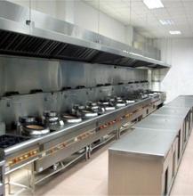 龍華定做廚房煙罩廠家_餐廳廚排煙房煙罩包安裝廠家圖片