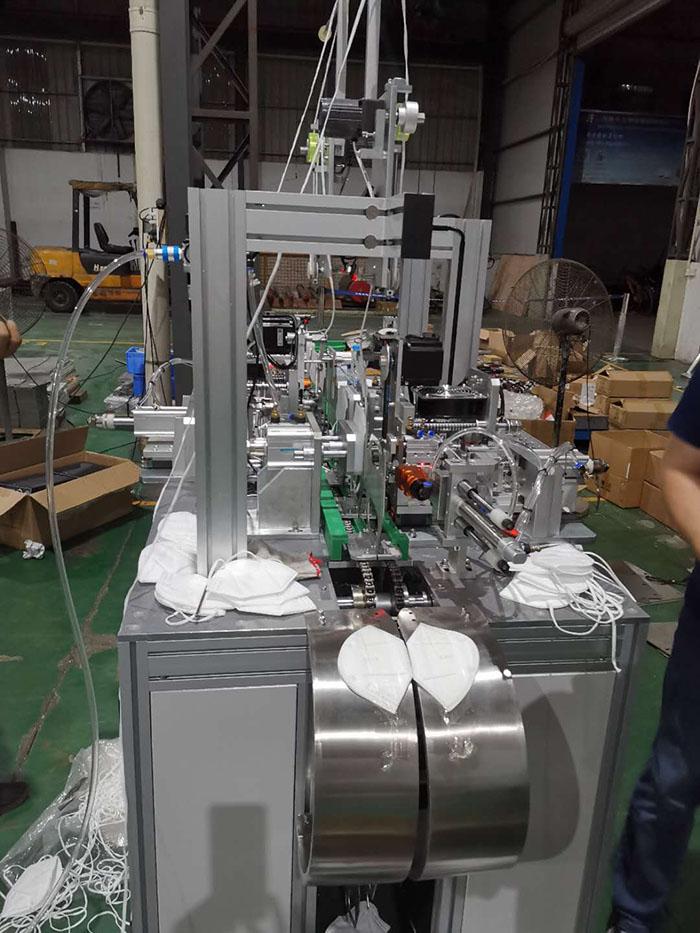 蓬江半自动口罩机回收