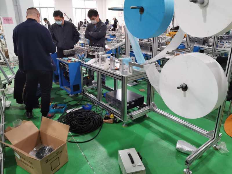 江海KF94口罩机回收