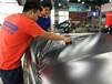 奔馳GLC電光灰改色貼膜,杭州汽車車身改色膜施工,金屬質感,帥氣低調