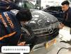 老款奔馳ML320漆面貼隱形車衣,杭州圣科車漆保護膜授權施工