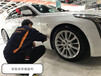凱迪拉克CT6漆面鍍晶,杭州汽車鍍晶施工,保護車漆提升漆面光澤度
