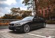 寶馬530Li車身貼膜電光黑改色貼膜,杭州專業汽車改色貼膜施工