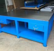 定做深圳重型模具工作台/修模專用鋼板工作台