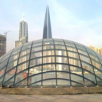 双曲面球形钢化玻璃异形双曲面球形钢化玻璃幕墙