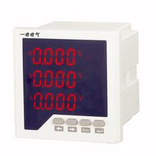一電PMAC600B-U三相數顯電壓表AC380V三相四線圖片