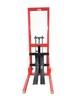3T手動液壓堆高車半電動升高車叉車液壓裝卸車