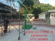 供应桂林篮球架厂家康力KL1006移动箱式篮球架图片