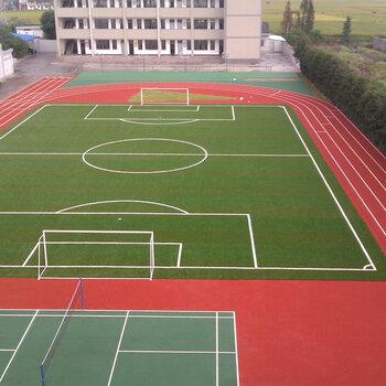 塑膠跑道地坪桂林塑膠跑道施工