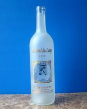 玻璃瓶廠家直銷烤花玻璃葡萄酒瓶出口玻璃酒瓶圖片