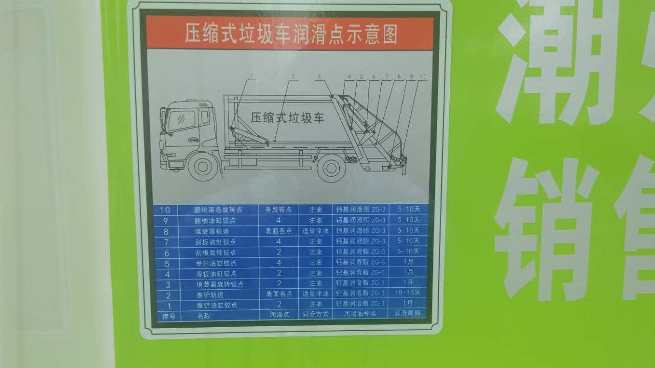 吉林长春南关12方压缩垃圾车年底促销