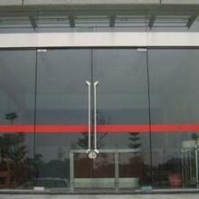東城區安裝玻璃門修玻璃門圖片