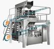 自动固型物装罐机组合称称重灌装机水果罐头自动灌装机