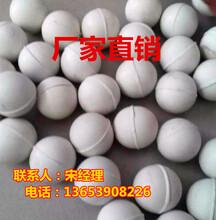 白色实心清网球/工业耐磨橡胶球/天然实心弹力球