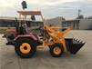 全新轮胎式挖掘机,唐山小型挖掘装载机什么价格?