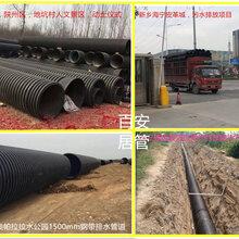 濮阳hdpe双壁波纹管厂300波纹管价格有几种质量濮阳pe钢带波纹管厂家图片