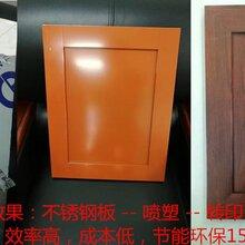 广东橱柜转印设备橱柜木纹转印机图片