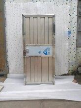 广度简易不锈钢门,肇庆广度不锈钢门安全可靠图片