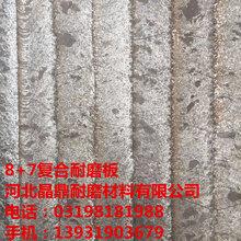 选粉机叶片耐磨复合钢板10+8图片